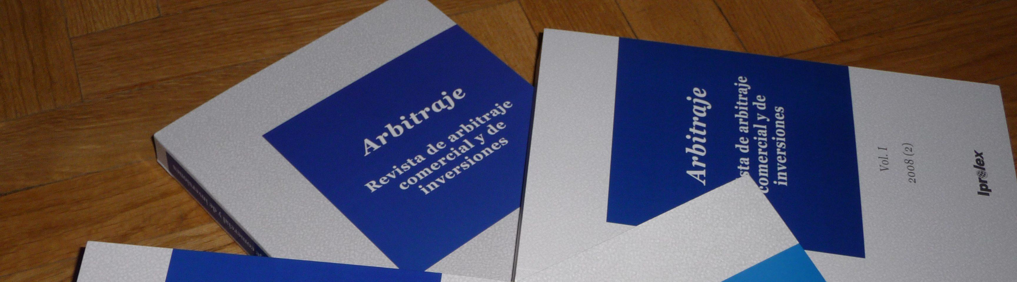 Arbitraje: Revista de arbitraje comercial y de inversiones